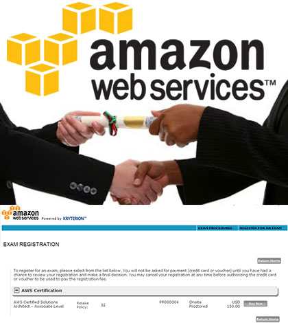 Amazon Aws Certification Offers Program Hosting