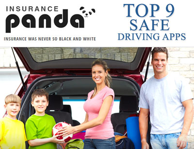 Top 9 Safe Driving Apps List Announced by Insurance Panda