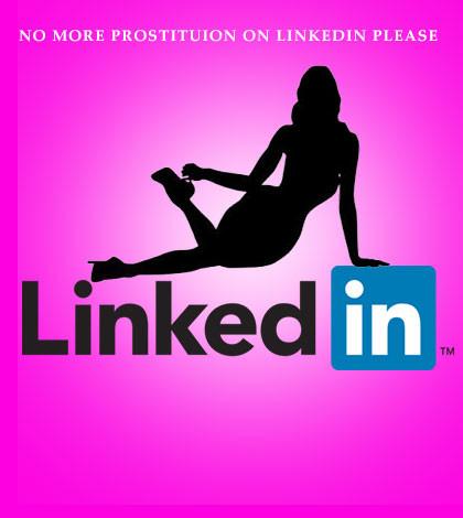 LinkedIn Prostitution