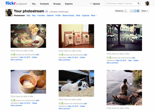 Flickr Old Photostream