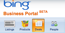 Bing Business Portal