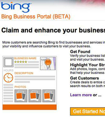 Local Business Seo with Bing Business Portal