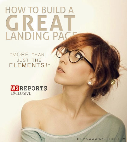 How to build a great landing page