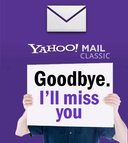 Yahoo discontinues Yahoo Mail Classic